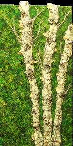 """Flouringshing Spring"" - Acrylic on Canvas - 12""w x 24""h"