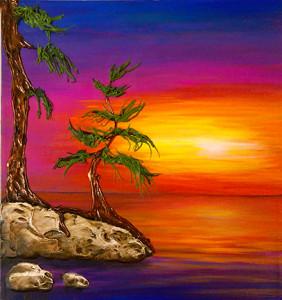 Acrylic on canvas - 12 x 12