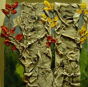 """""""Silent Journey"""" - Acrylic on canvas - 12 x 12"""