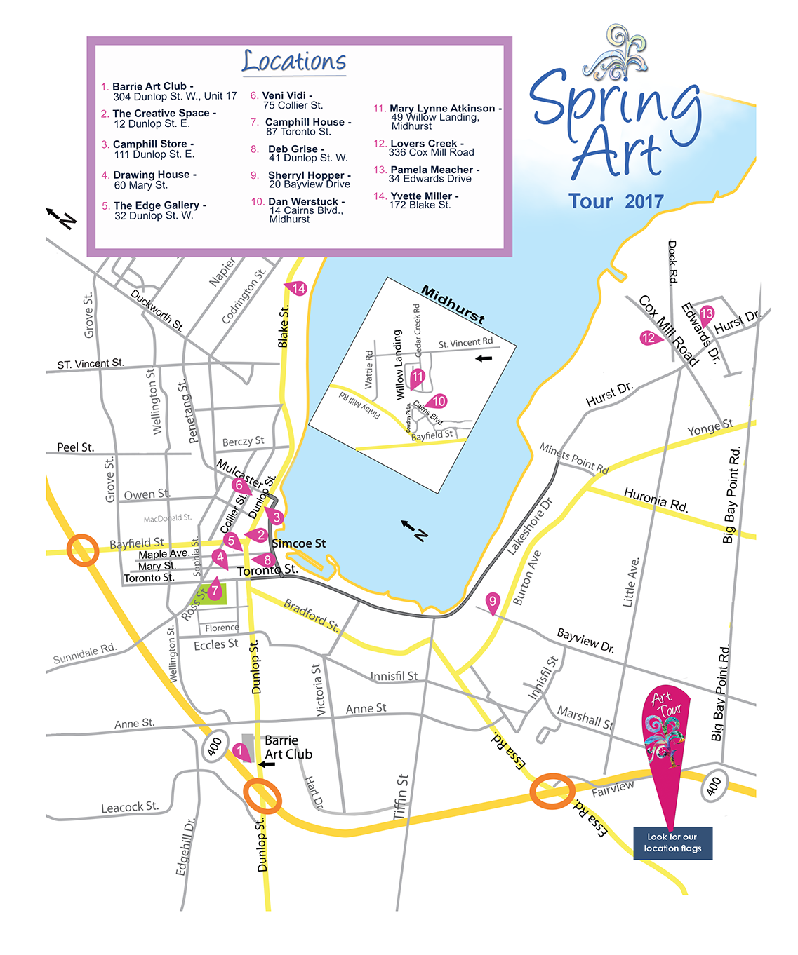 Barrie Spring Art Tour!